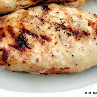 Healthy Quick Lemon Garlic Marinade Grilled Chicken.