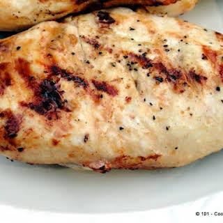 Healthy Quick Lemon Garlic Marinade Grilled Chicken.