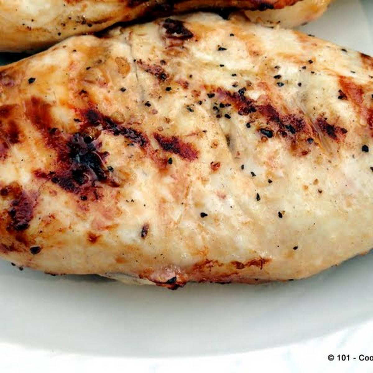Healthy Quick Lemon Garlic Marinade Grilled Chicken