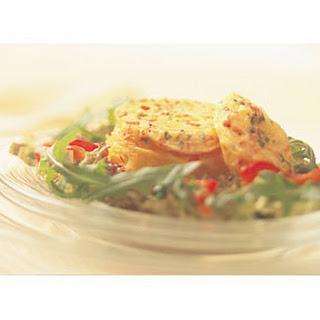 Salade Met Paprikatimbaaltje