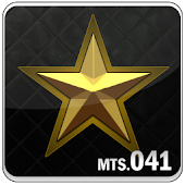 Gold Star Go Launcher EX theme