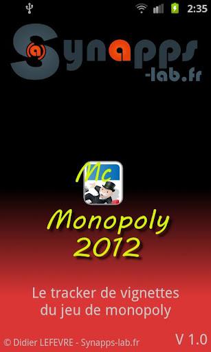 Mc Monopoly 2012