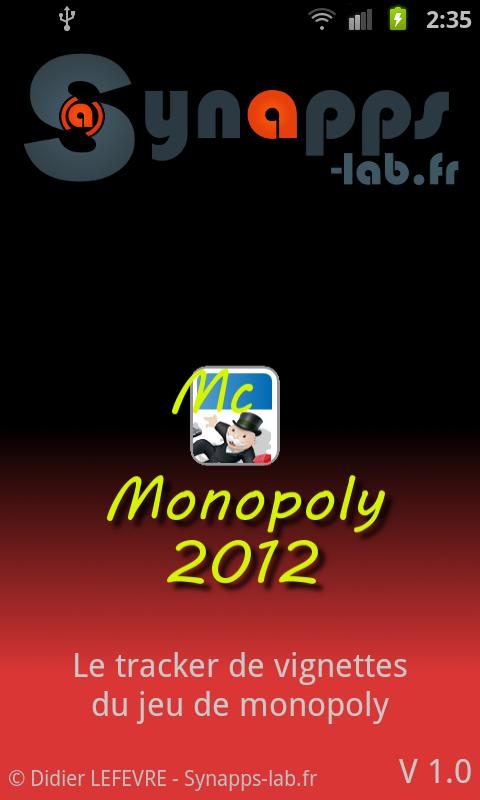 Mc Monopoly 2012 - screenshot