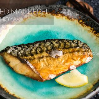 Grilled Mackerel (Saba Shioyaki)