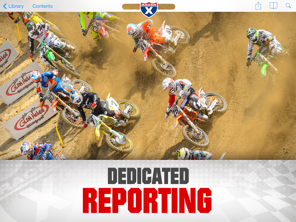 Racer X Illustrated magazine- screenshot