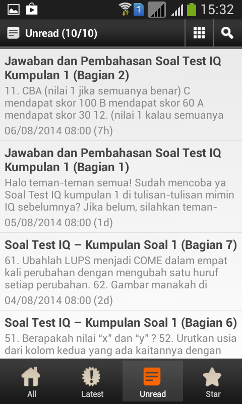 Soal Test IQ- screenshot