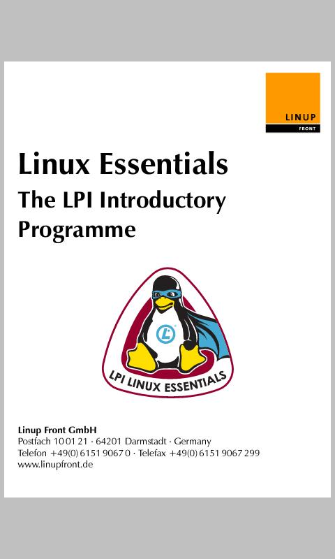 Linux Essentials - screenshot