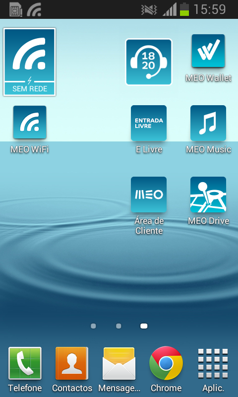 MEO WiFi- screenshot