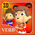 Verbs for Kids-Part 2-English icon