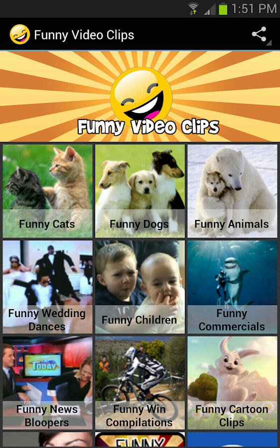 Funny Video Clips- screenshot