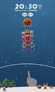 SnowMonster GO Locker Theme - screenshot thumbnail