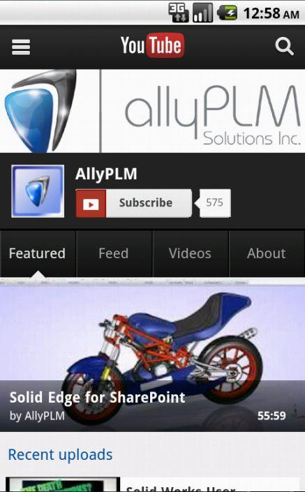 Ally PLM Lunch Bytes - screenshot