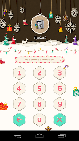 AppLock Theme Xmas & New Year 1.1 screenshot 6250
