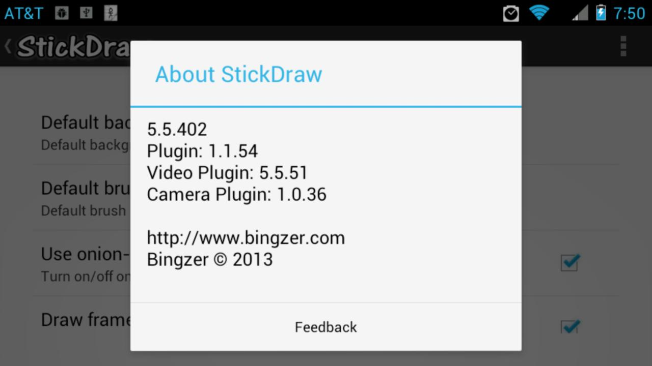 StickDraw - Video Plugin - screenshot