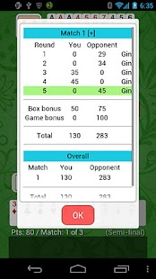 Gin Rummy - Net Gin Free - screenshot thumbnail