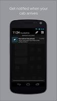 Screenshot of Flywheel - The Taxi App