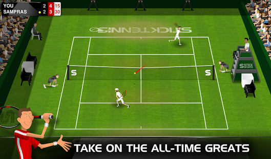 Stick Tennis Screenshot 22