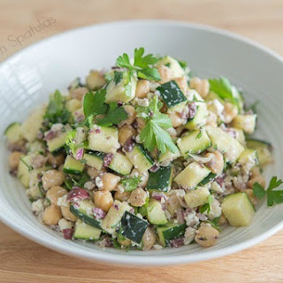 Greek Zucchini Salad
