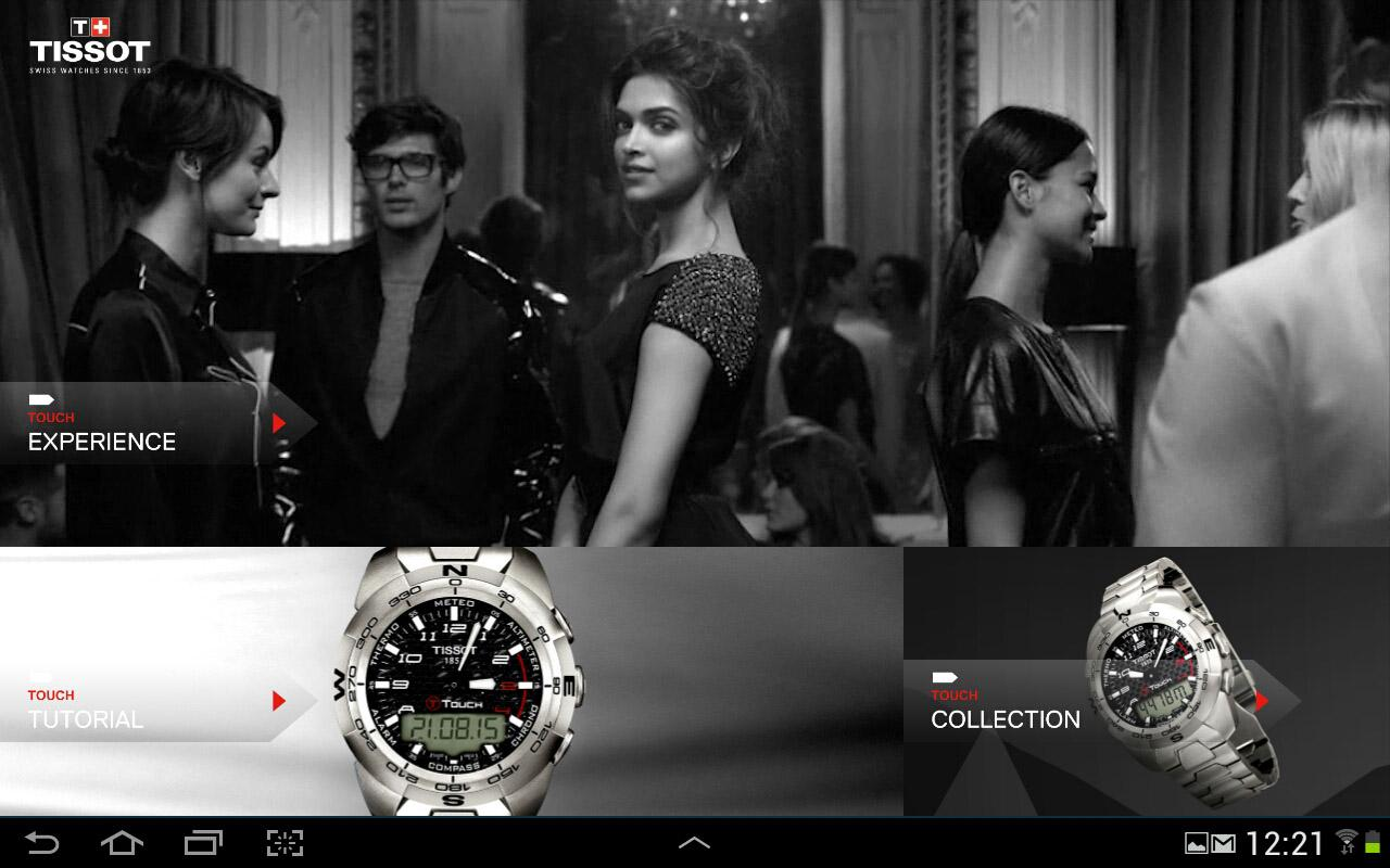 Tissot Touch - screenshot