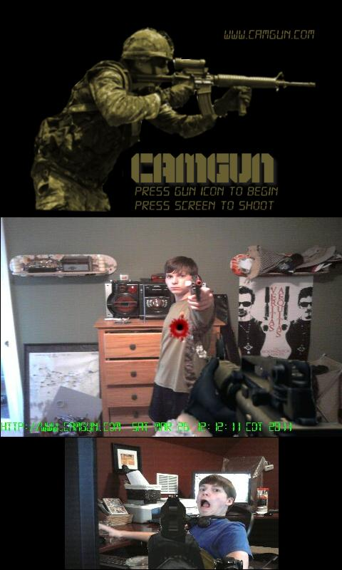 CamGun (Camera Gun) - screenshot