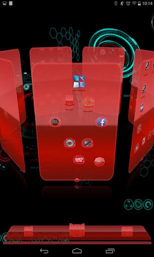 フリー次にランチャーCode Redの3D|玩生產應用App免費|玩APPs