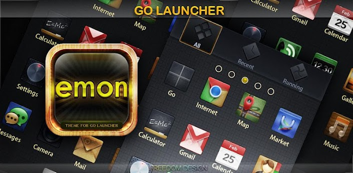 Emon GO LauncherEX Theme apk