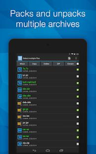 B1 Archiver zip rar unzip- screenshot thumbnail