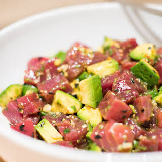 Maui Avocado & Tuna Poke.