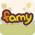 Famy - Family chat & Locator + icon