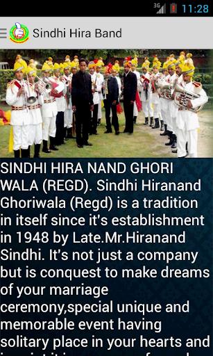 Sindhi Hira Band