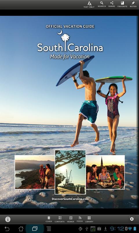South Carolina Guide- screenshot