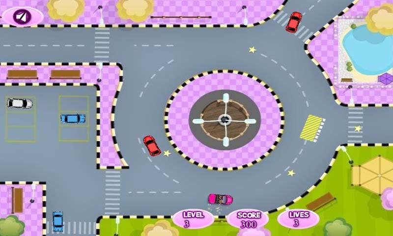Star Girl Car Parking HD - screenshot
