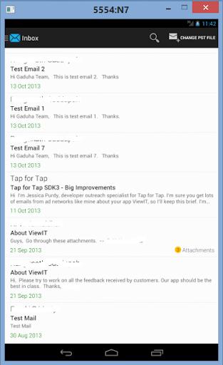 玩商業App|ViewIT - Outlook PST Viewer免費|APP試玩