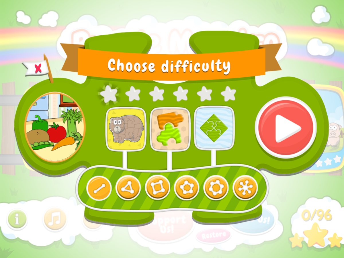 Puzzle Maestro - made for kids- screenshot