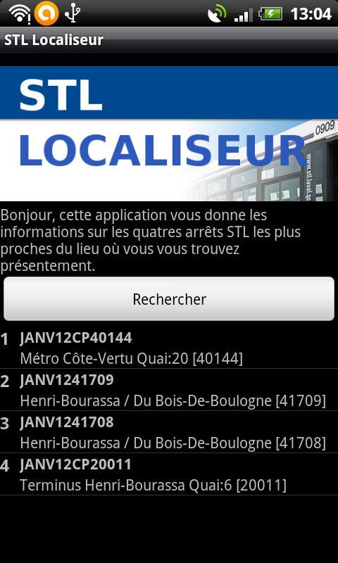 STL Localiseur- screenshot