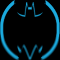 BlueHoloBatcons Launcher Icons icon