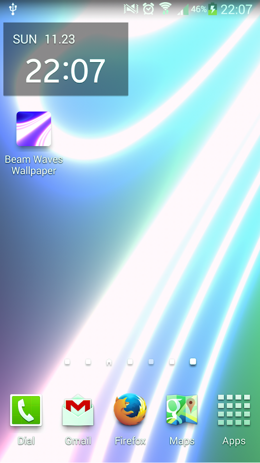 Beam Waves Live Wallpaper Free- screenshot