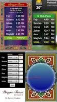 Screenshot of Prayer Time