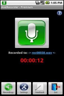AndRecorder - Premium- screenshot thumbnail