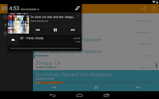 Screenshot of PRX Remix
