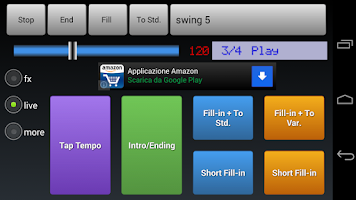 Screenshot of Drum Machine Drummer Friend