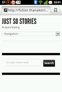 Just So Stories - screenshot thumbnail