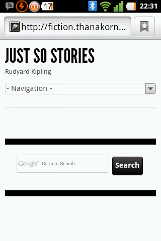 Just So Stories - screenshot