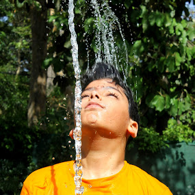 Beating The Heat by Maham Elahi - Babies & Children Children Candids (  )