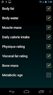 Weight Logger - screenshot thumbnail