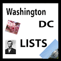 U.S. Travel List WASHINGTON DC icon