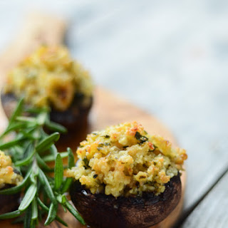 Seafood Stuffed Portobello Mushrooms Recipes.