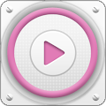 PlayerPro Cloudy Pink Skin APK for Lenovo