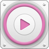App PlayerPro Cloudy Pink Skin APK for Windows Phone