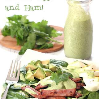 Greens, Eggs and Ham Salad